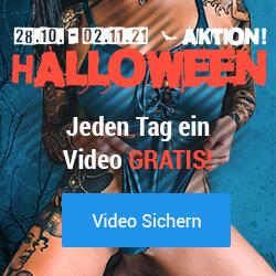 Halloween-Aktion auf Visit-X